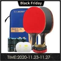 Table Tennis Racket Ping Pong Paddle Bat Set Professional Carbon Stiga Butterfly