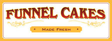 "18""x48"" - Funnel Cakes - Concession Banner"