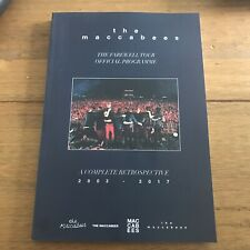 The Maccabees Tour  Programme