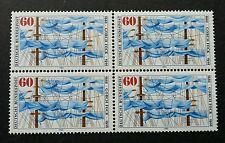Germany Birth Centenary Of Johann Kinau (Gorch Fock) 1980 (stamp block of 4) Mnh