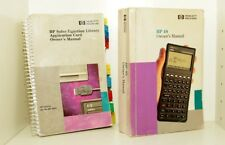 HP 48sx Calculator w/ 41CV 82211A HP Solve Equation Card - Case & Manuals& Print