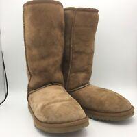 UGG Australia Classic Tall Sheepskin Boots 5815 Genuine Leather Women's Size 6