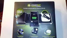 Powermat Pmm-2Px-B1 2X Portable Wireless Charging Mat w. Universal Powercube