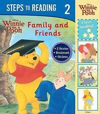 Disney Steps To Reading 2 - Family And Friends (Disney Reading), Disney, New Boo