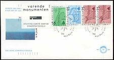 Netherlands 1989 Sailing Vessels Booklet Pane FDC First Day Cover #C20247