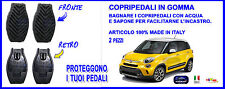 Copripedali in gomma - Fiat 500 Trekking 2013> DUE PEDALI - copri - pedali