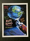 The Chiodo Brothers signed Killer Klowns 11X14 photo W/ Beckett COA