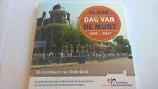 """Nederland 2017 Dag van de Muntset K.N.M. """"25 Jaar Dag van de Munt""""."""