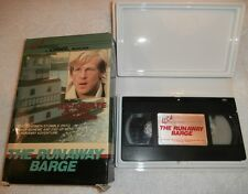 THE RUNAWAY BARGE~'75 TV MOVIE~ALTON,IL~BO HOPKINS~USA BIG BOX VHS~OOP~VERY RARE