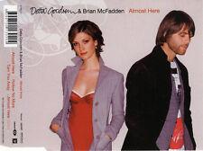 """DELTA GOODREM & BrianMcFadden """"AlmostHere"""" 2005 3Trk CD *EnhancedVideo *TheVoice"""