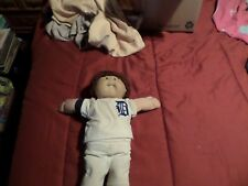 VINTAGE 1986 DODGERS BASEBALL PLAYER CABBAGE PATCH BOY WITH DIAPER