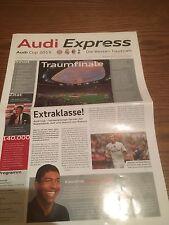 Stadion Magazin FC Bayern München Audi-Cup 2015