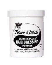 Black & White Cire Coiffante véritable pluko pommades pour s'habiller de cheveux