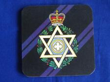 ROYAL ARMY CHAPLINS DEPTMENT ( JEWISH ) ( RAChD ) LARGE COASTER