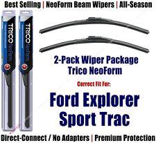 2pk Super-Premium NeoForm Wipers fit 2001-2005 Ford Explorer Sport Trac 16180x2
