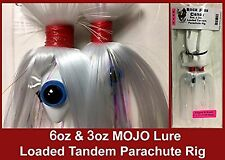 """Blue Water Candy - Rock Fish Candy 6oz & 3oz Mojo Lure Loaded w/ 9"""" Shads"""