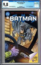 Onstar Batman #1 CGC 9.8 WP 2001 3802360021 Auto Show Special Limited Edition!