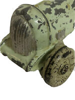Antique Iron Green Roadster Toy Car Race Car