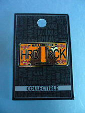 Hard Rock Cafe Bali Airport - License Plate -  HRC Core Series Pin NEW on Card