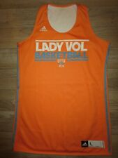 Tennessee Lady Vol Volunteers Team Issued #20 Basketball adidas Jersey LG L