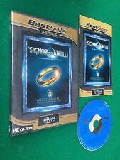 PC CD-ROM - IL SIGNORE DEGLI ANELLI COMPAGNIA ANELLO+ Manuale Gioco Game PAL ITA