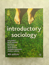 Introductory Sociology by Tony Bilton Paperback Book (English)