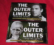 2 PACKS! The Outer Limits Premiere Edition! LOOK FOR AUTOGRAPHS! by Rittenhouse