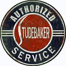 Extra Large Authorized Studebaker Service Center Sign Garage Art