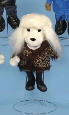 """POODLE PUPPET # GL1805 ~ All Dressed Up! ~14"""" tall ~ FREE SHIP/USA Sunny Puppets"""