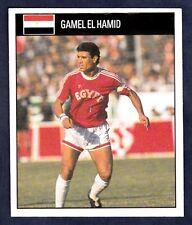 ORBIS 1990 WORLD CUP COLLECTION-#491-EGYPT-GAMEL EL HAMID