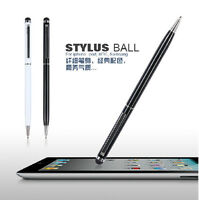 2in1 Stylus Ballpoint Pen for IPad IPhone Tablet Capacitive Screen Touch Pen 3pc