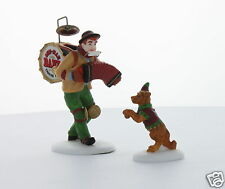 Department 56 Christmas in the City One-Man Band & the Dancing Dog 1995 #58891