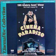 Cinema Paradiso Giuseppe Tornatore Italian Language English dubbed 2-Laserdiscs