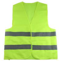 Chaleco Reflectante Fluorescente Chaleco Verde Safet al Aire Libre y Ropa C E8E1
