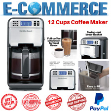 Programmable & Smart Coffee Maker With Automatic Serve For Home Kitchen & Office