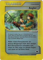 CCG 132 Pokemon Skyridge Reverse Holo Angler / Fisherman 125/144 Deutsche Karte