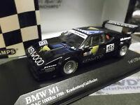 BMW M1 Nürburgring 1000km 1986 MK Krankenberg Kenwood #151 RAR Minichamps 1:43