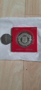 Manchester united Offial Medal /Coin 1977-1978