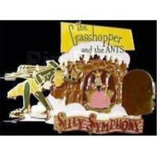 DLRP- SILLY SYMPHONY (GRASSHOPPER & THE ANTS) DISNEY LE 900 PIN 37055