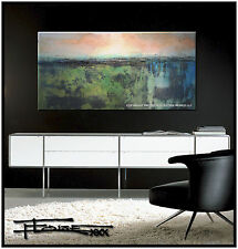 ABSTRACT PAINTING Modern CANVAS WALL ART, Listed by Artist, FRAMED, US ELOISExxx