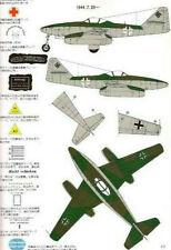 MESSERSCHMITT Me262 Luftwaffe Jet Fighter Famous Airplanes Of World Book FAOW 2