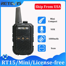 Long Range Radio Retevis RT15 FRS License-free Walkie Talkie VOX TOT 1000mAh