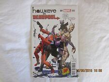 Hawkeye vs Deadpool #1  DF Exclusive Variant Cover Signed 176/198
