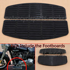 For Harley Davidson Softail Touring FL Rubber Foot Inserts Set of 2 floor boards