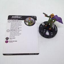 Heroclix Joker's Wild set Sandman #040 Rare figure w/card!