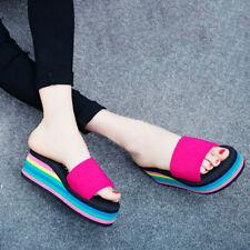 Women's Sandals Ladies Shoes Summer Open Toe Sandals Travel Thick Heel