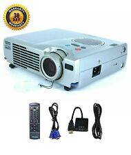 Epson PowerLite 505c 3LCD Projector Portable HDMI adapter, HD 1080p w/Remote