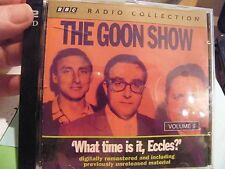 2 CDs The Goon Show Classics: Volume 9, ''What Time Is it Eccles?''