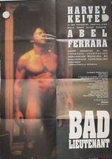 BAD LIEUTENANT Filmplakat Poster HARVEY KEITEL Abel Ferrara 1992