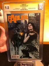 FABLES #1 Comic CGC 9.8 ALEX MALEEV VARIANT COVER SS NM+ BILL WILLINGHAM Vertigo